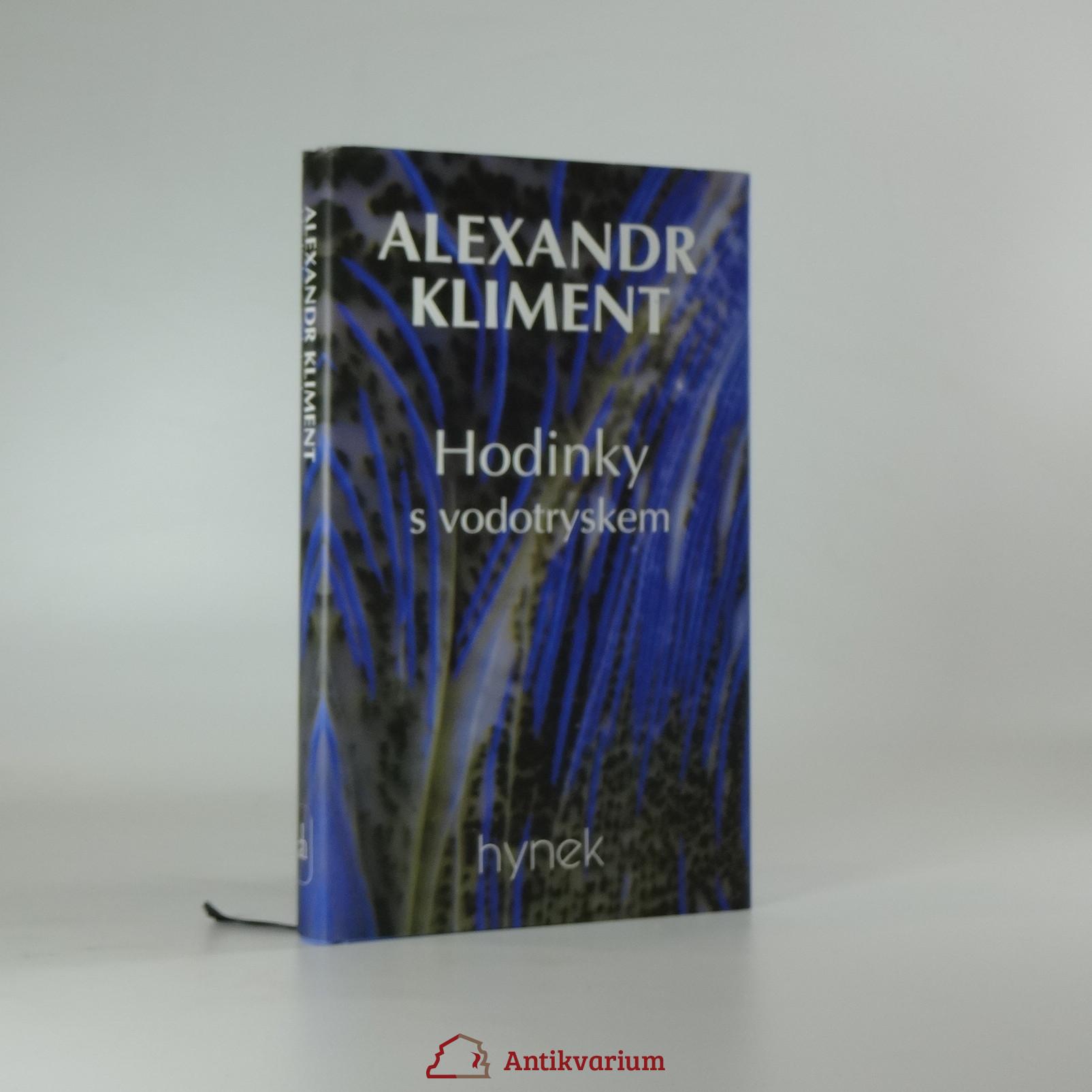 antikvární kniha Hodinky s vodotryskem, 1997