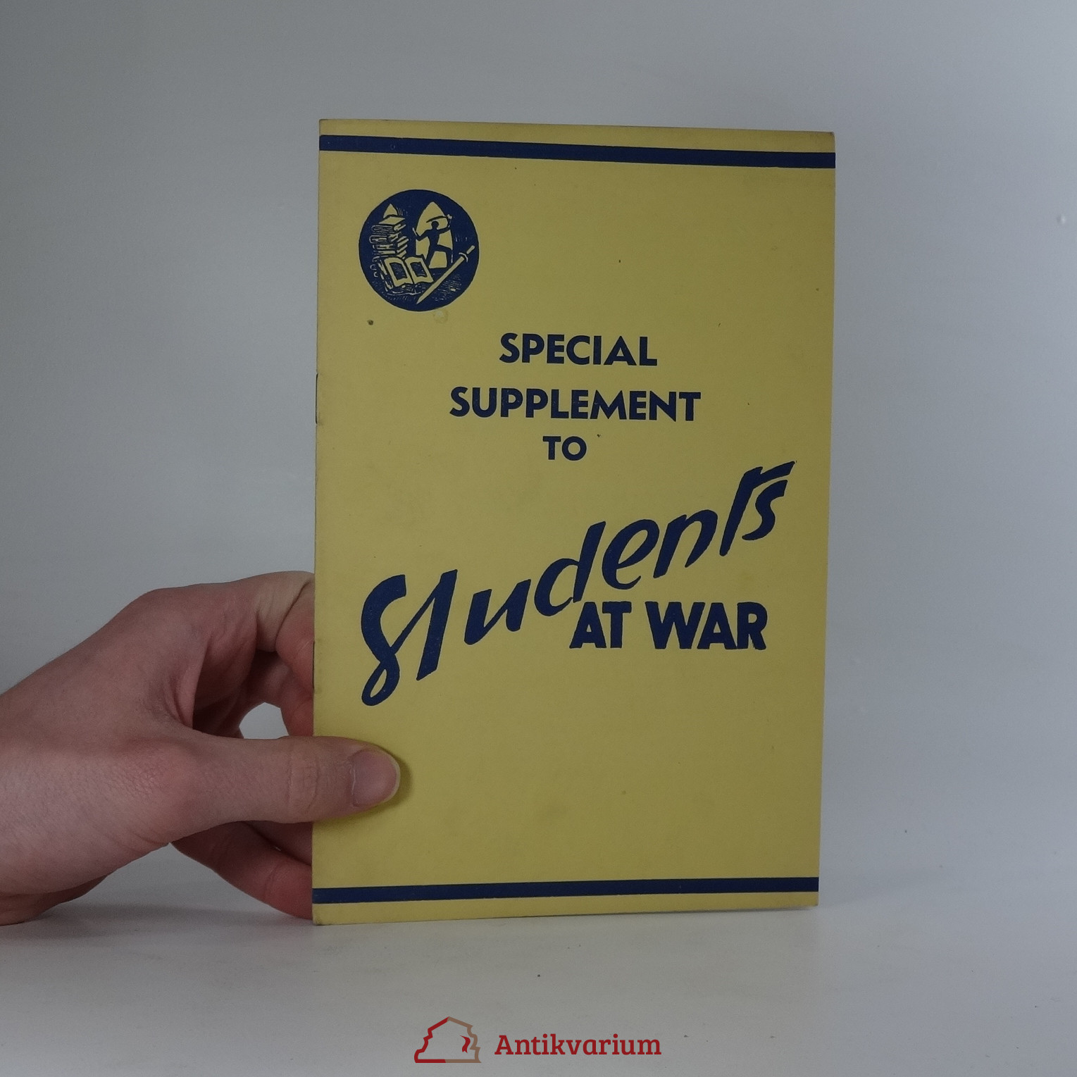 antikvární kniha Special Supplement to Students at War, 1945