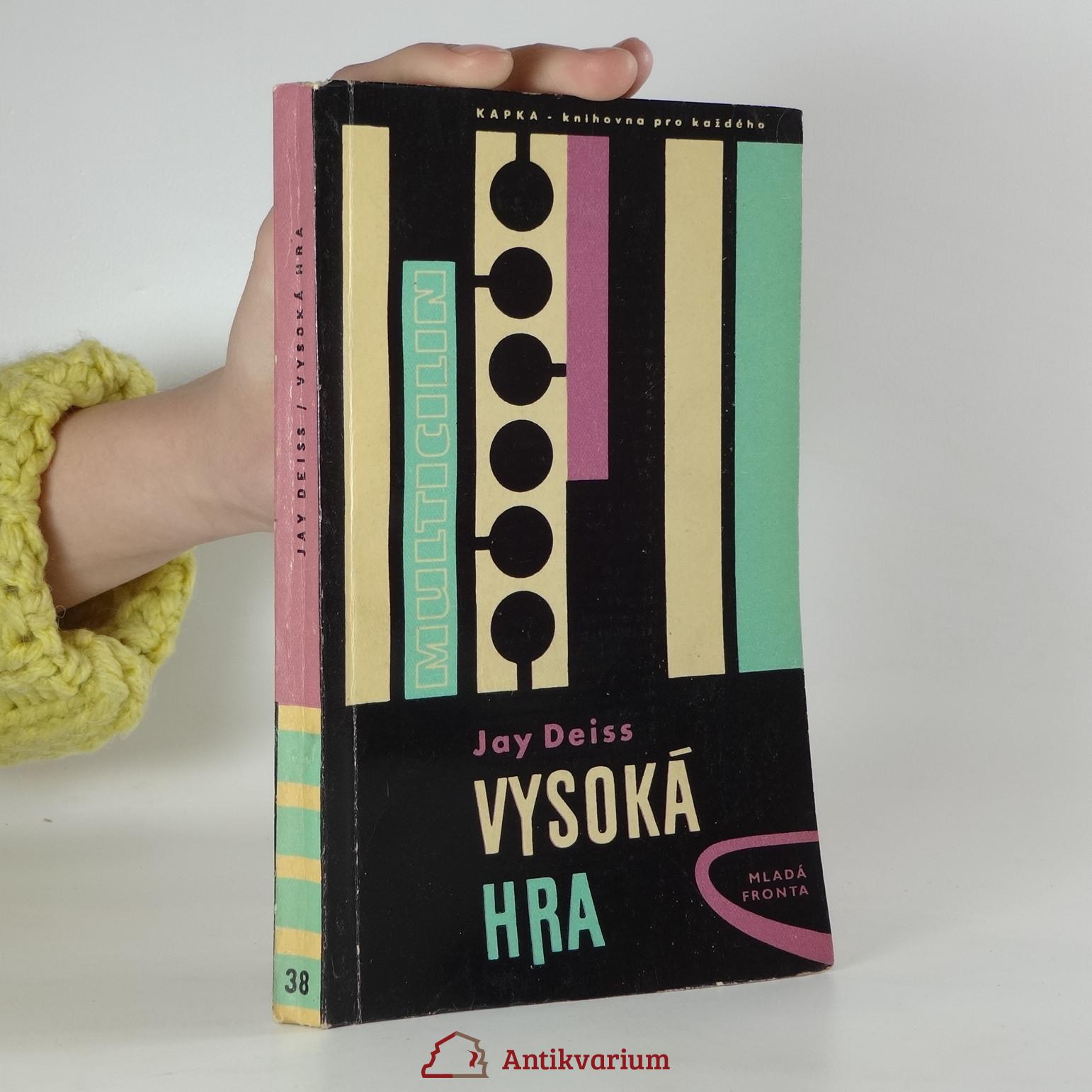 antikvární kniha Vysoká hra, 1961