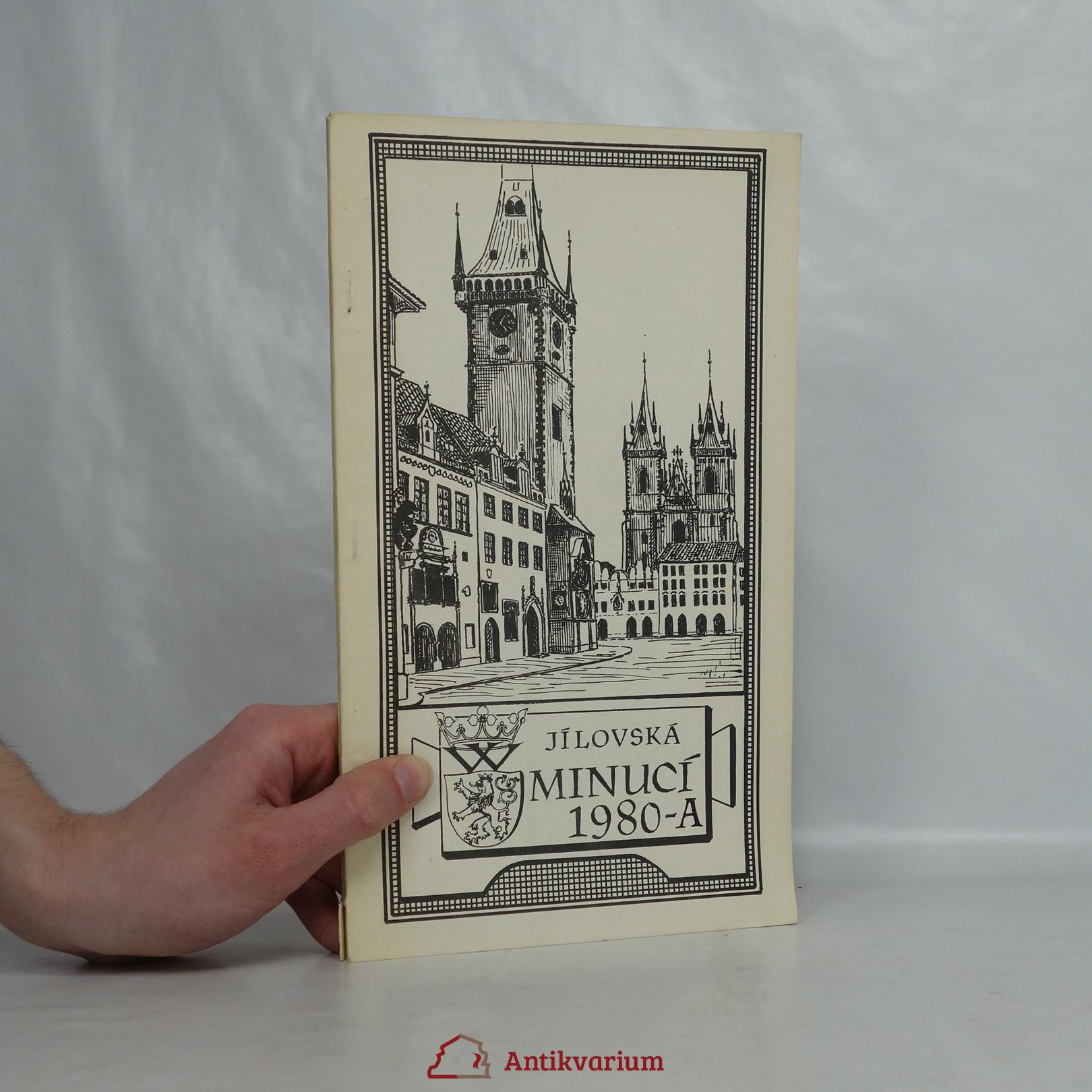 antikvární kniha Jílovská minucí 1980-A, neuveden