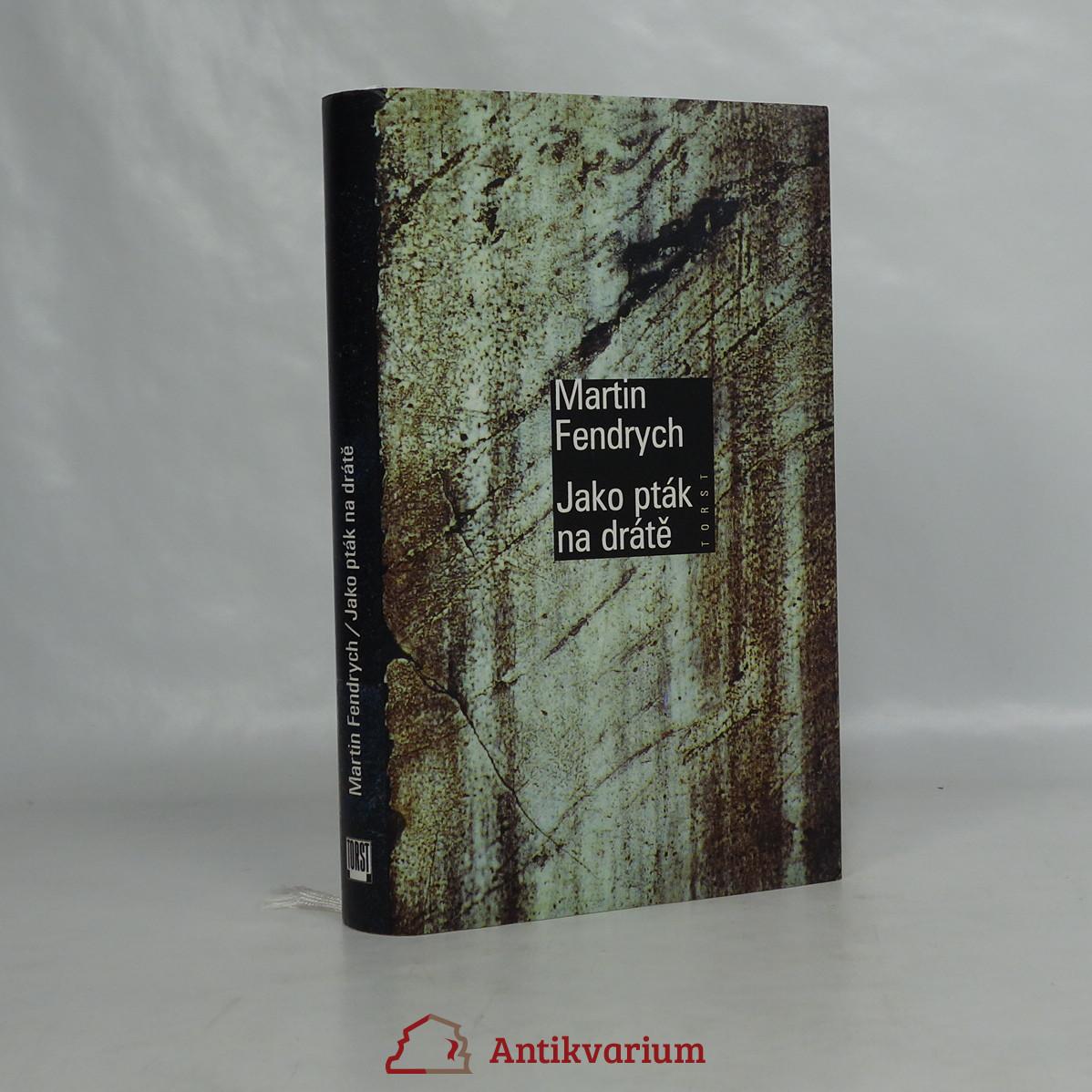 antikvární kniha Jako pták na drátě, 1998