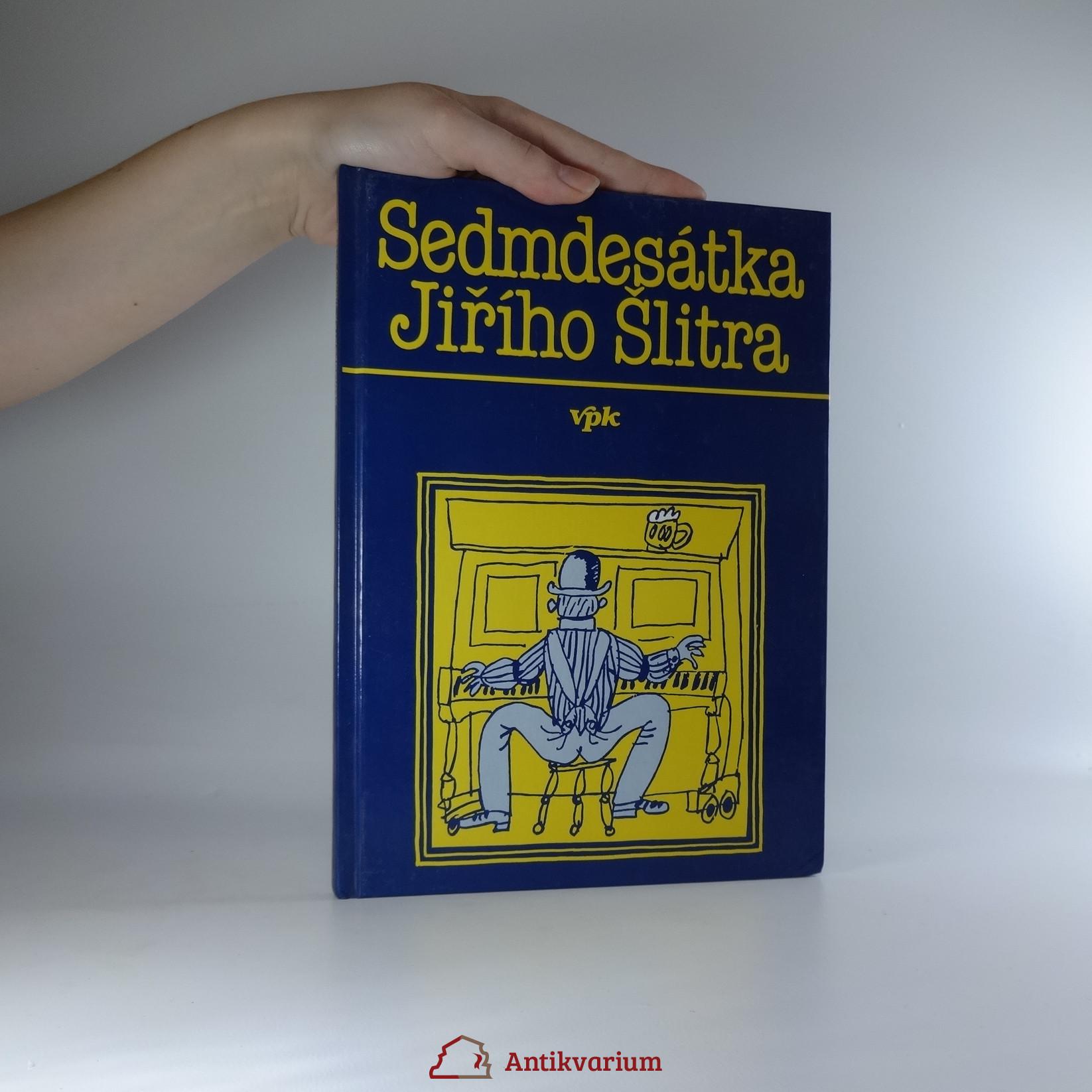 antikvární kniha Sedmdesátka Jiřího Šlitra, 1994