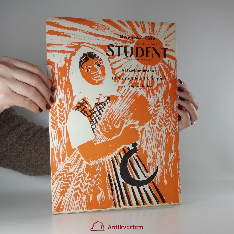 antikvární kniha Student. Číslo 5 (2.8.1945), 1945