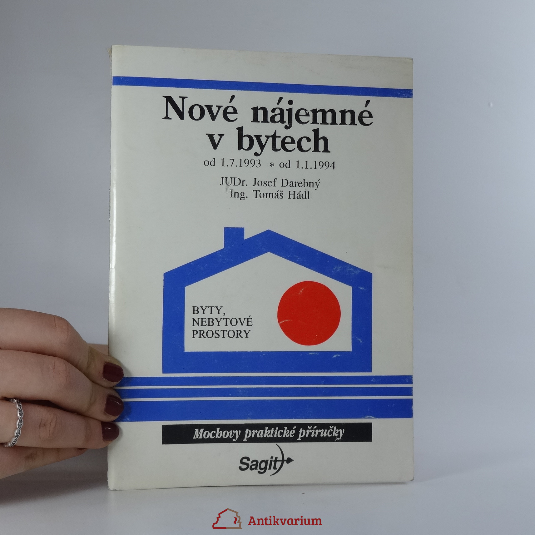 antikvární kniha Nové nájemné v bytech, 1993