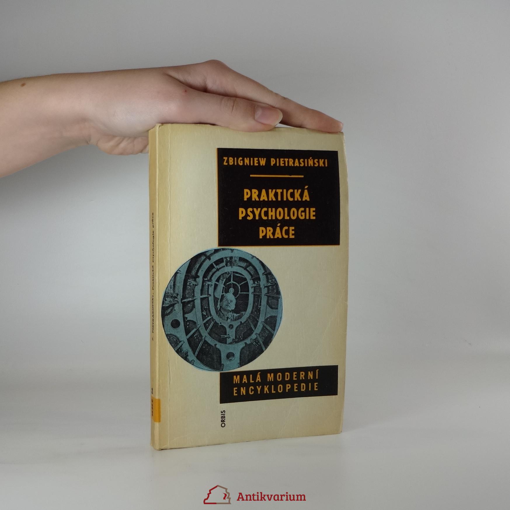antikvární kniha Praktická psychologie práce. Malá moderní encyklopedie, 1968