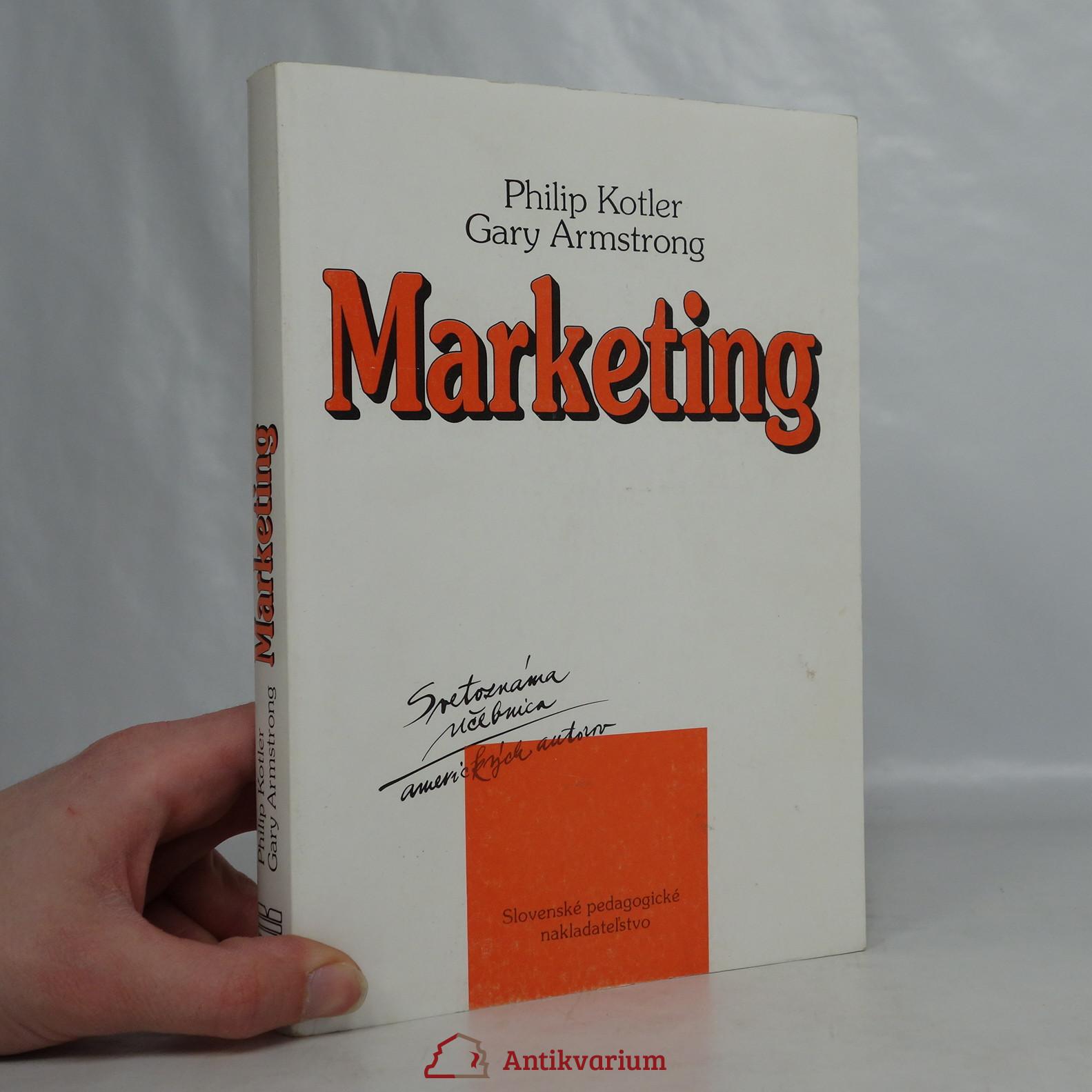 antikvární kniha Marketing, neuveden