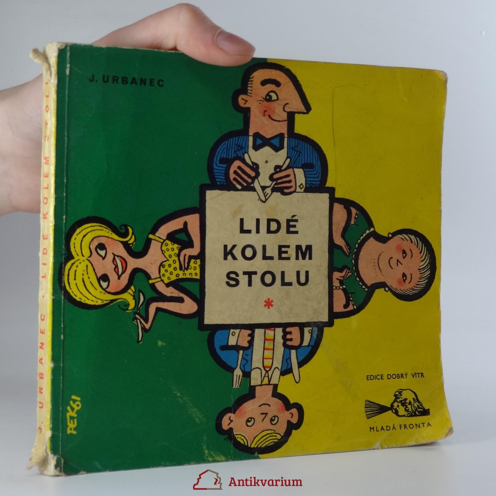 antikvární kniha Lidé kolem stolu, 1961