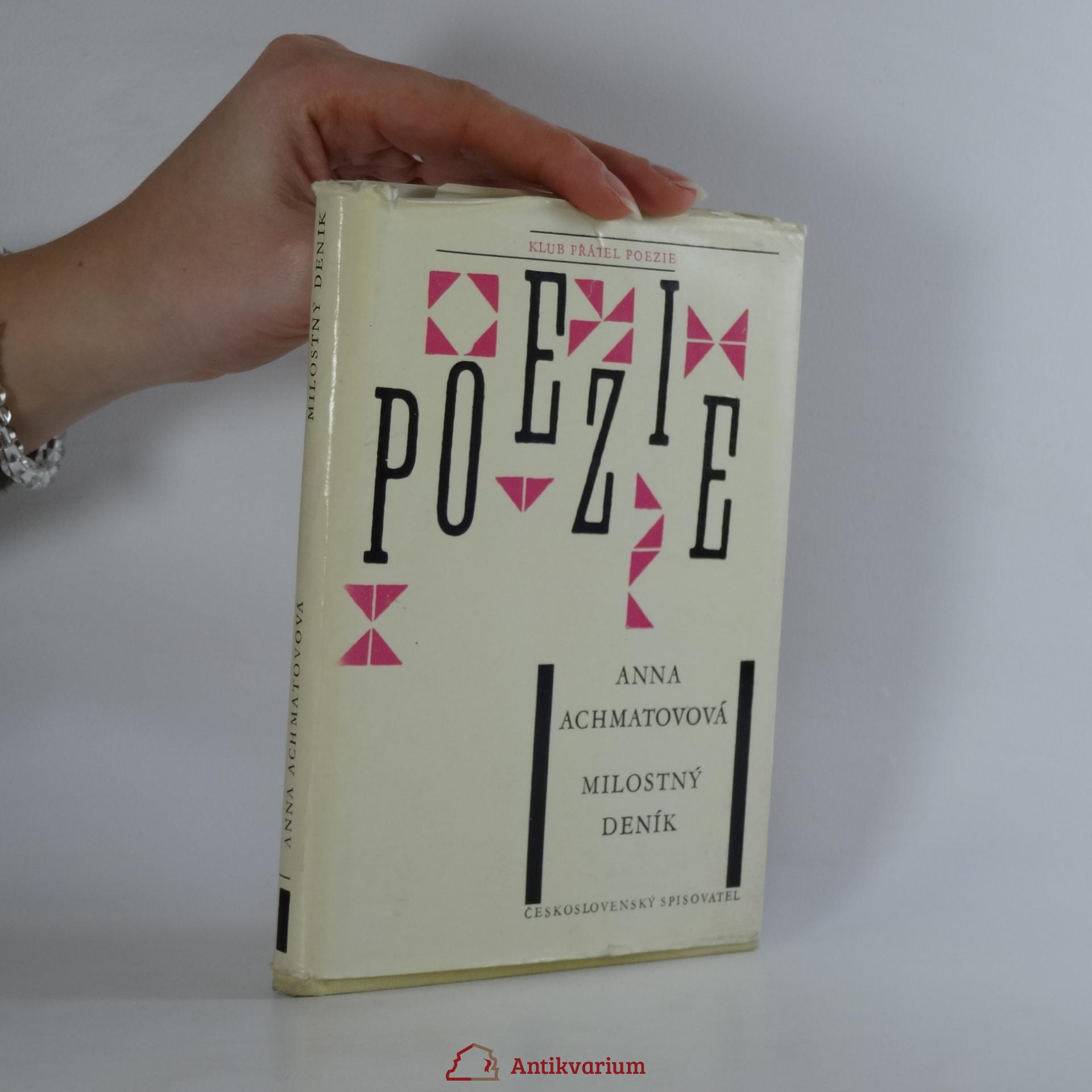 antikvární kniha Milostný deník, 1963