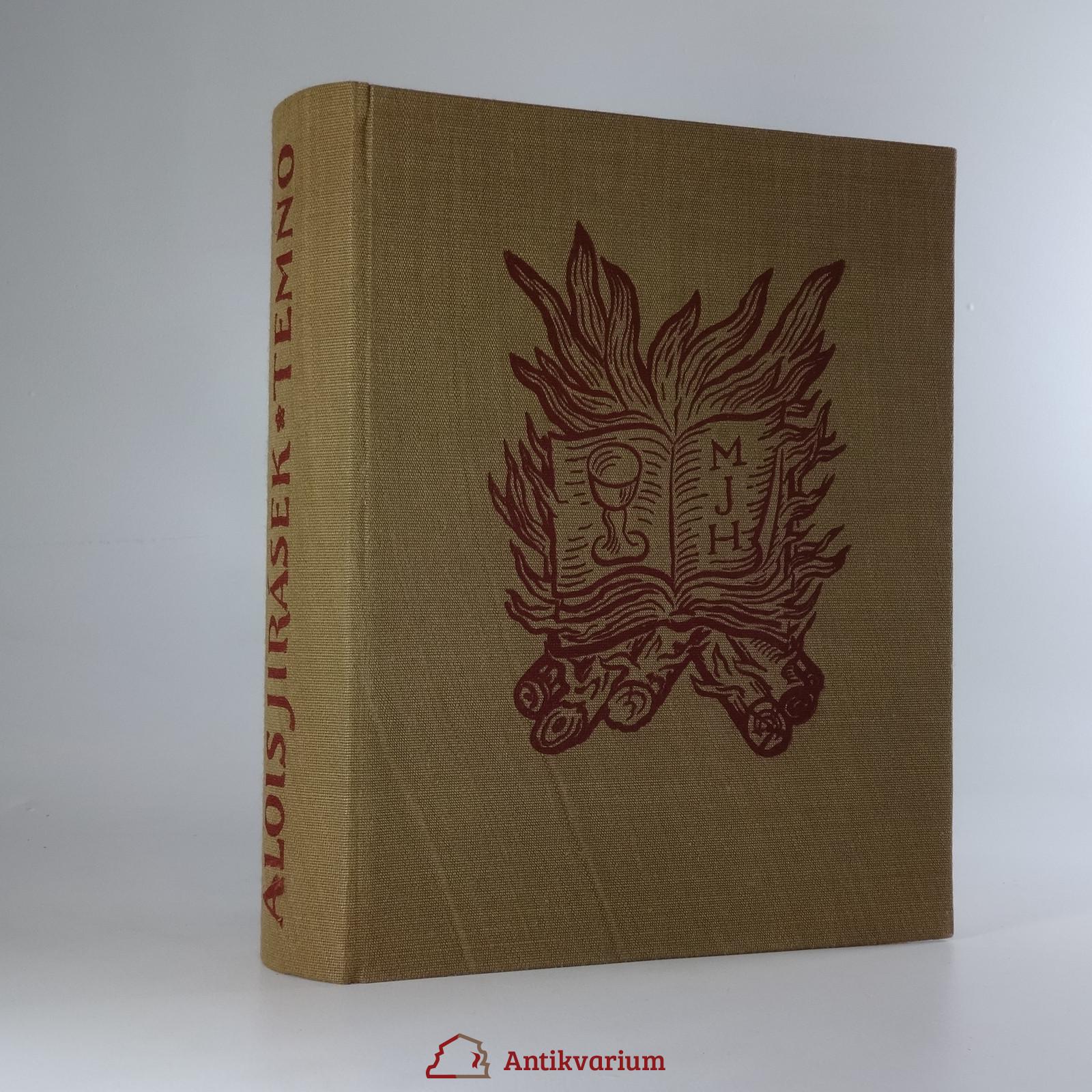 antikvární kniha Temno : historický obraz, 1940
