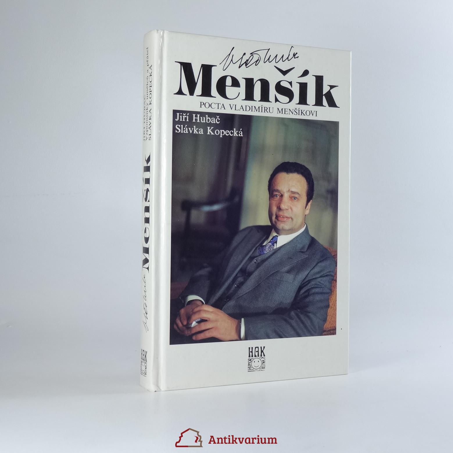antikvární kniha Pocta Vladimíru Menšíkovi, 1993