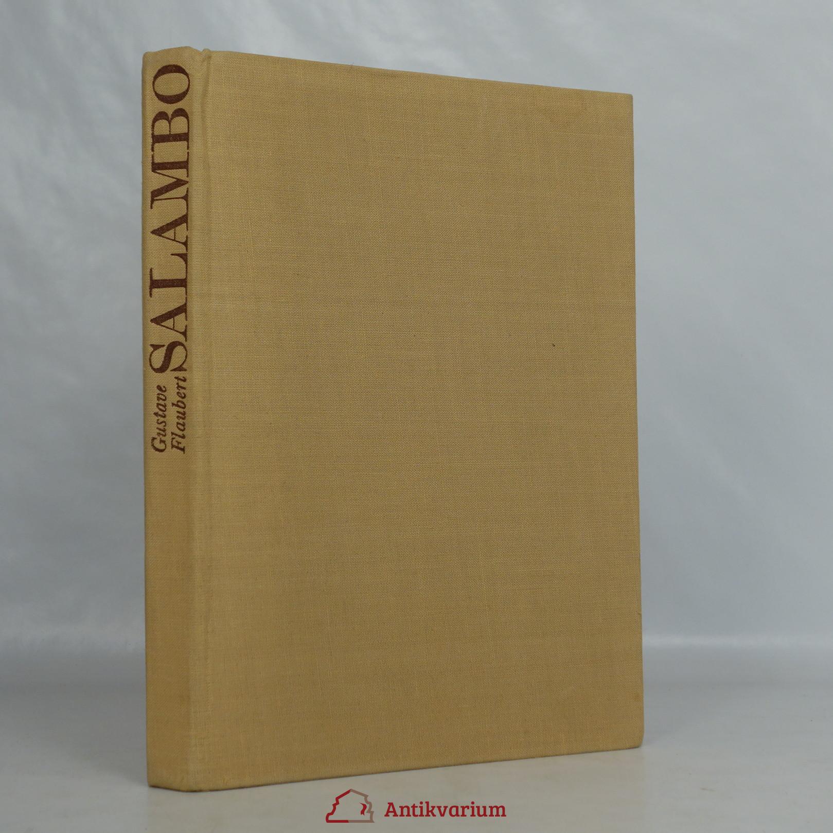 antikvární kniha Salambo, 1973