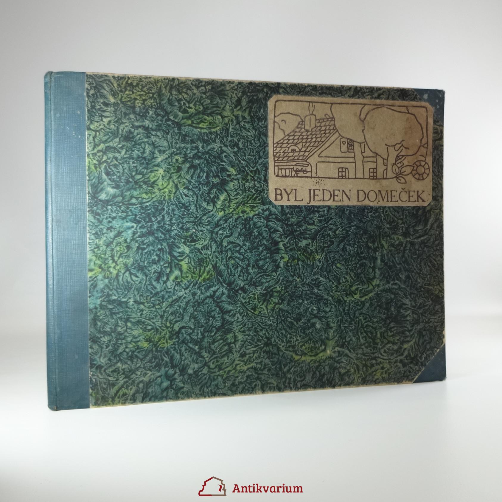 antikvární kniha Byl jeden domeček, neuveden