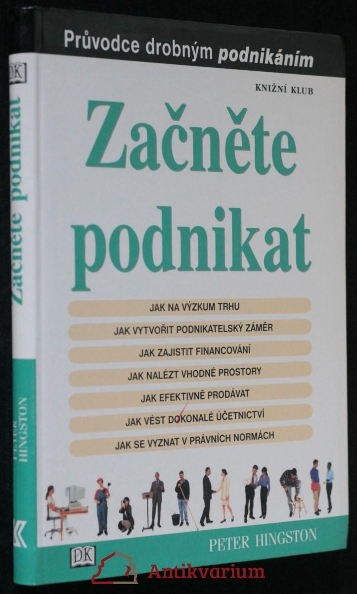 antikvární kniha Začněte podnikat : průvodce drobným podnikáním, 2002