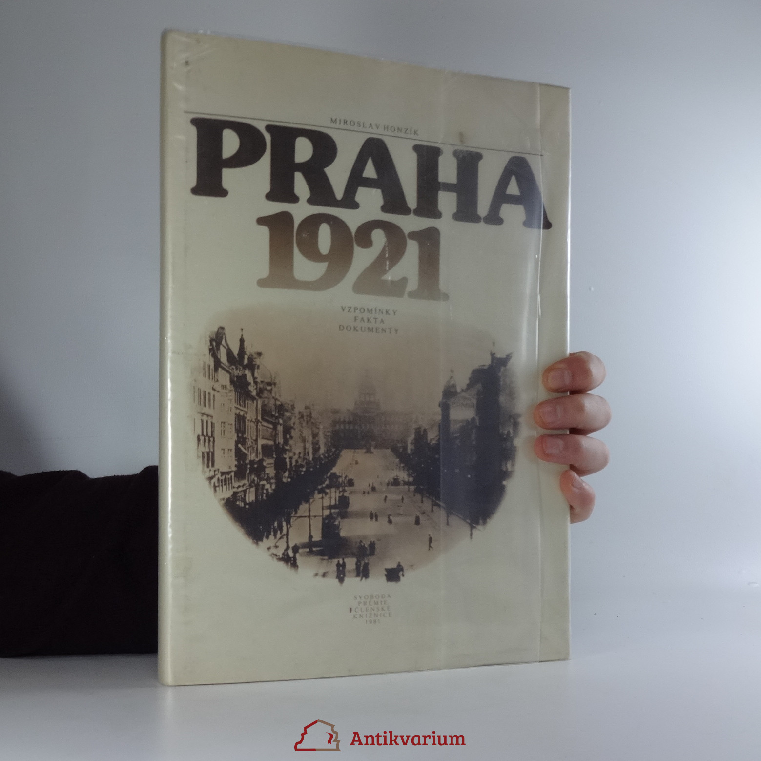 antikvární kniha Praha 1921: vzpomínky, fakta, dokumenty, 1981