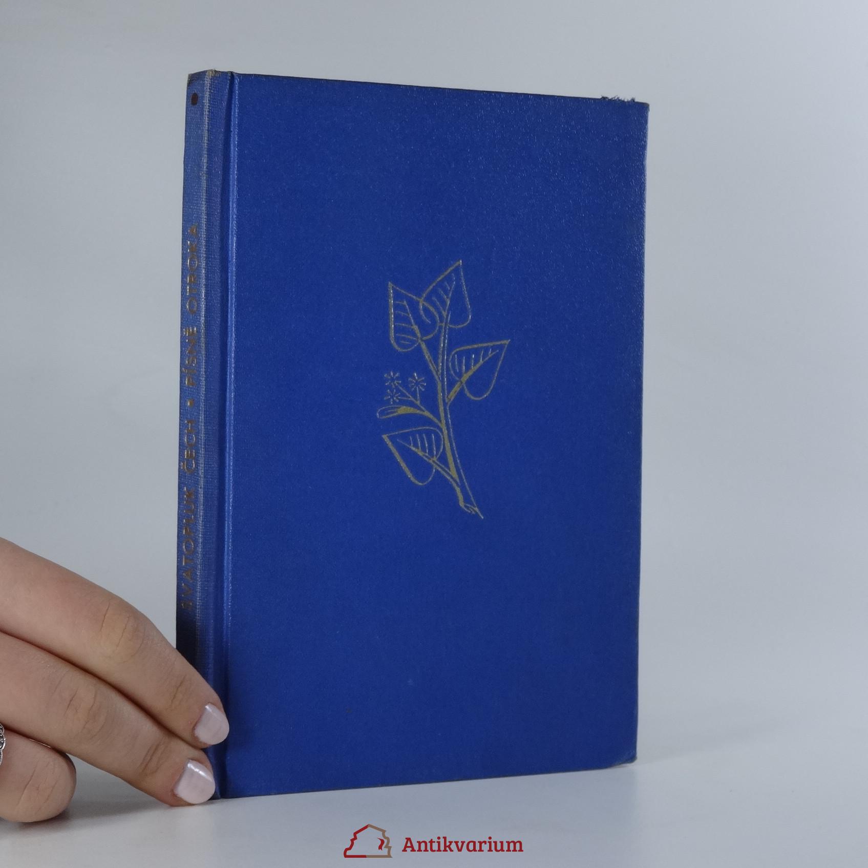 antikvární kniha Písně otroka, 1920