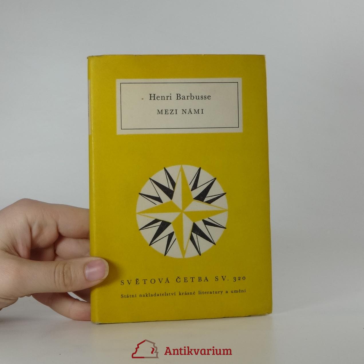 antikvární kniha Mezi námi, 1964