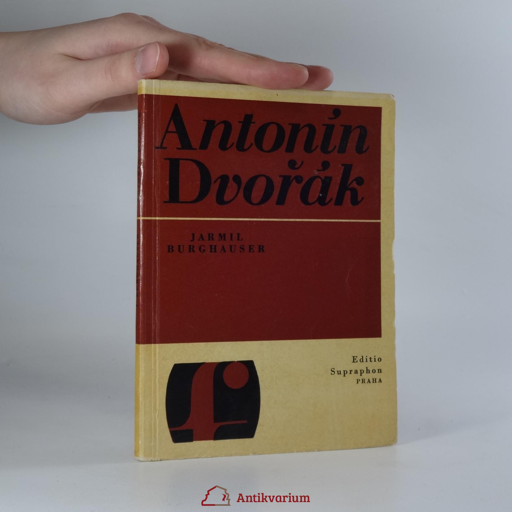 antikvární kniha Antonín Dvořák, 1966