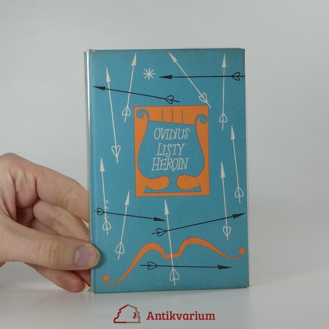 antikvární kniha Listy heroin, 1960
