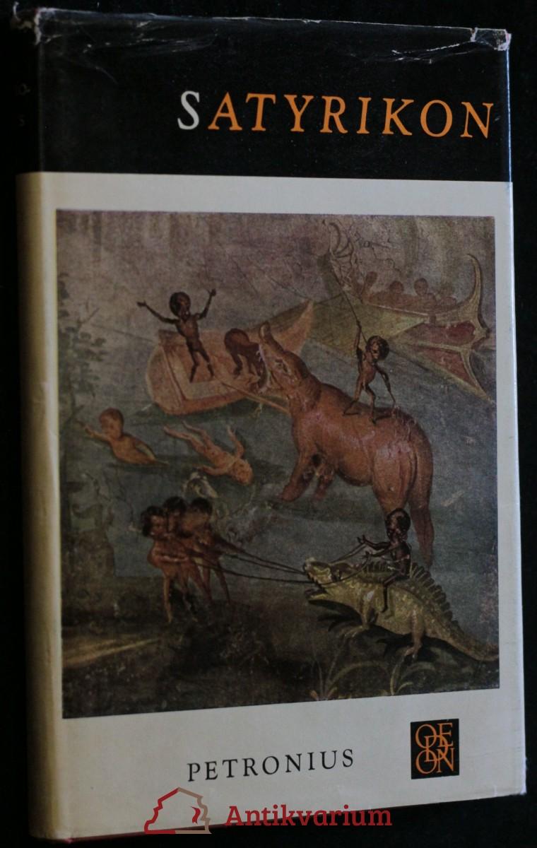 antikvární kniha Satyrikon, 1970
