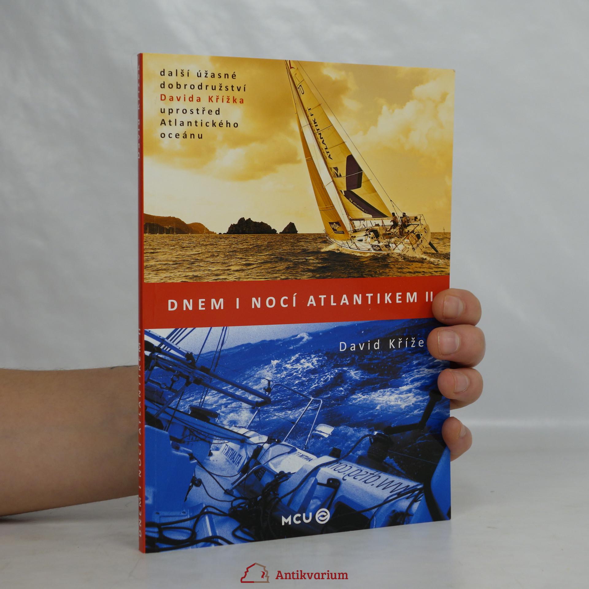 antikvární kniha Dnem i nocí Atlantikem II , 2013