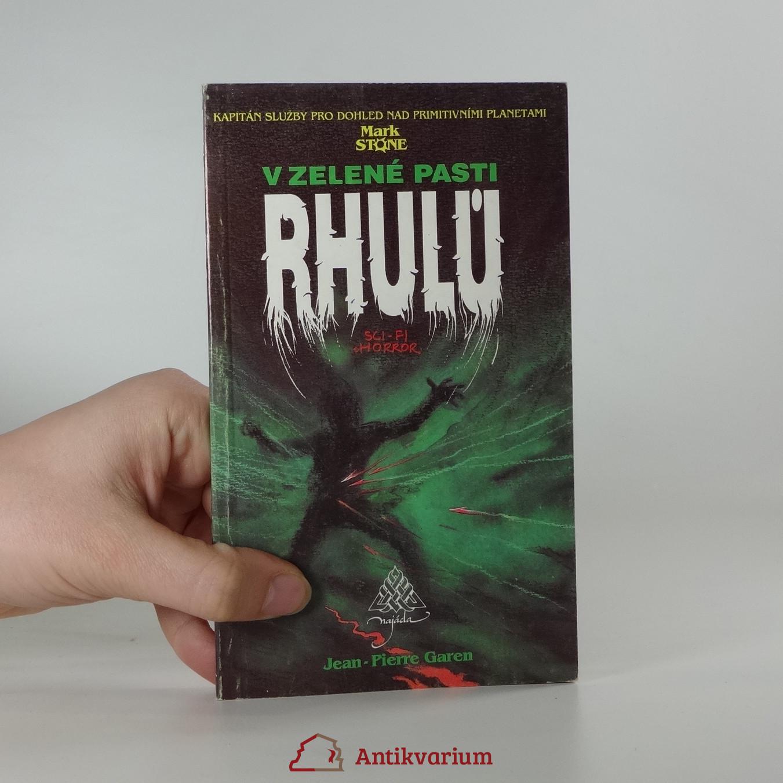 antikvární kniha V zelené pasti Rhulů, 1991