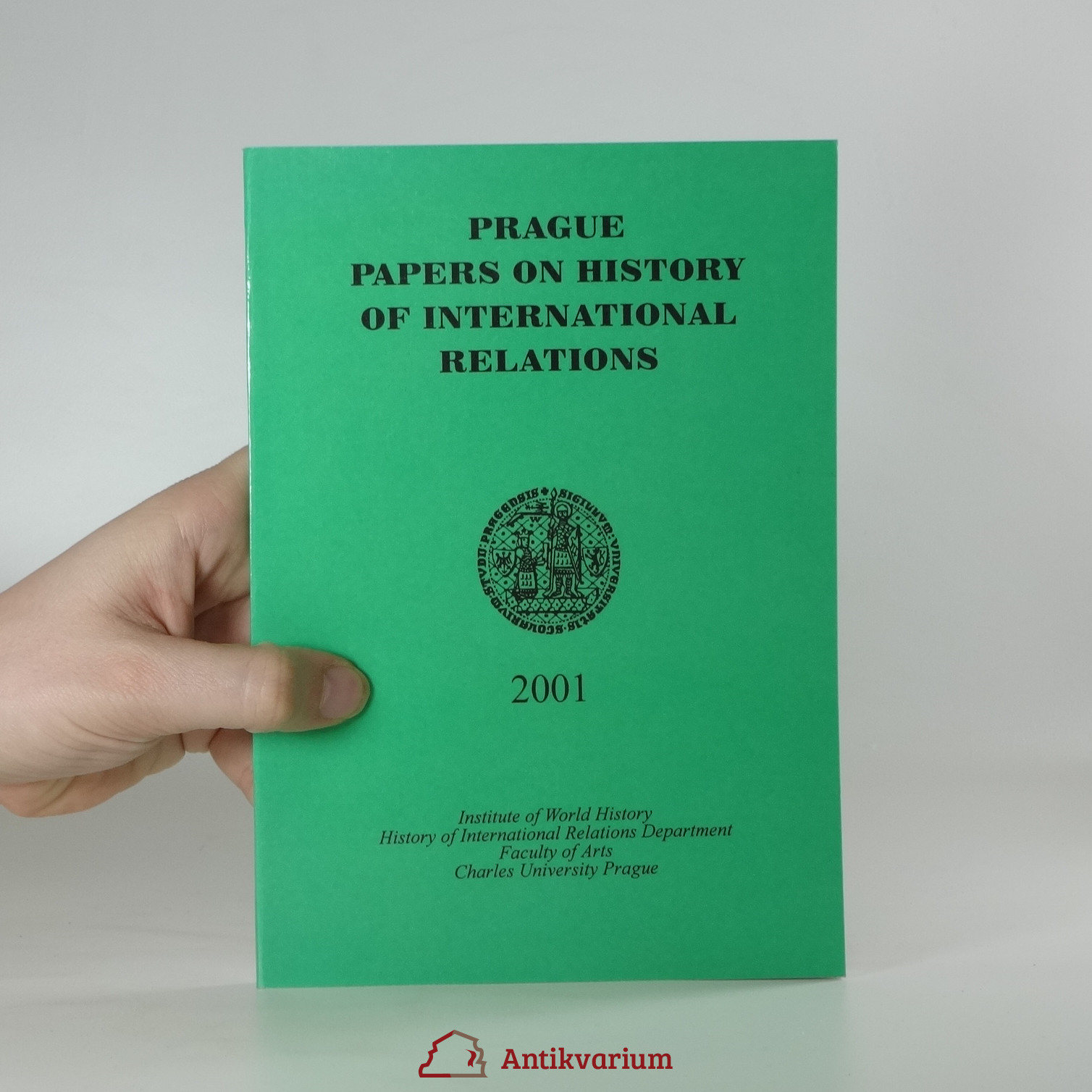 antikvární kniha Prague papers on history of international relations , 2001