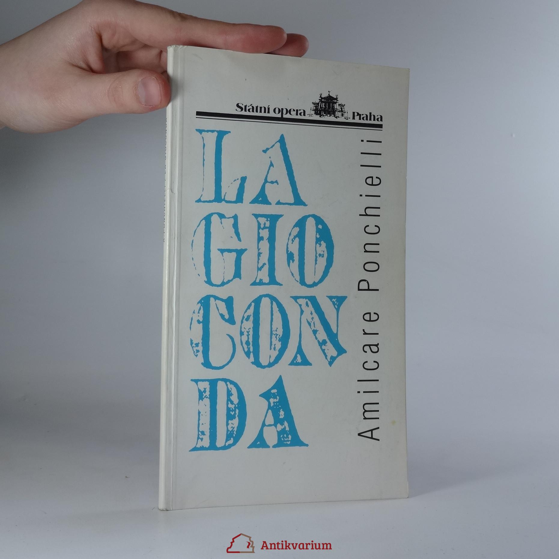 antikvární kniha La Gioconda, 1997