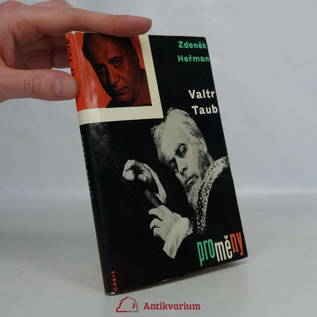 antikvární kniha Valtr Taub, 1964
