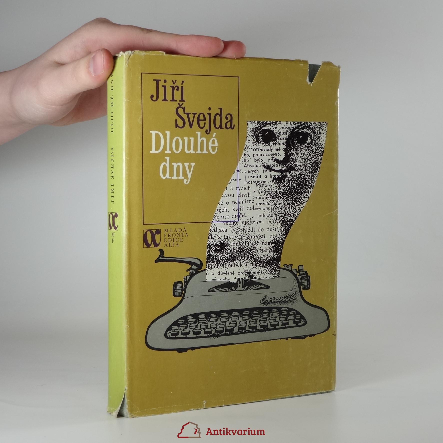 antikvární kniha Dlouhé dny, 1981