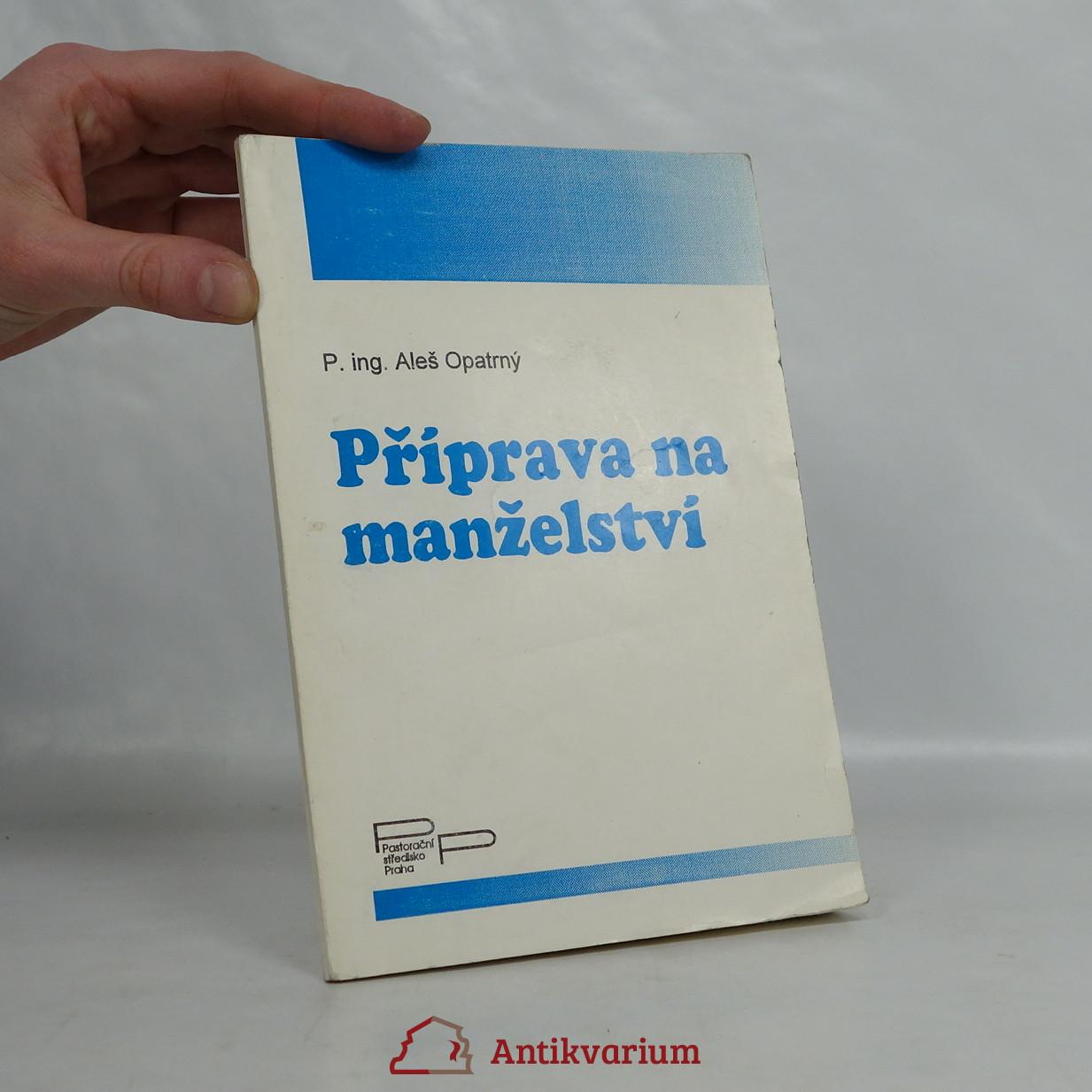antikvární kniha Příprava na manželství, neuveden