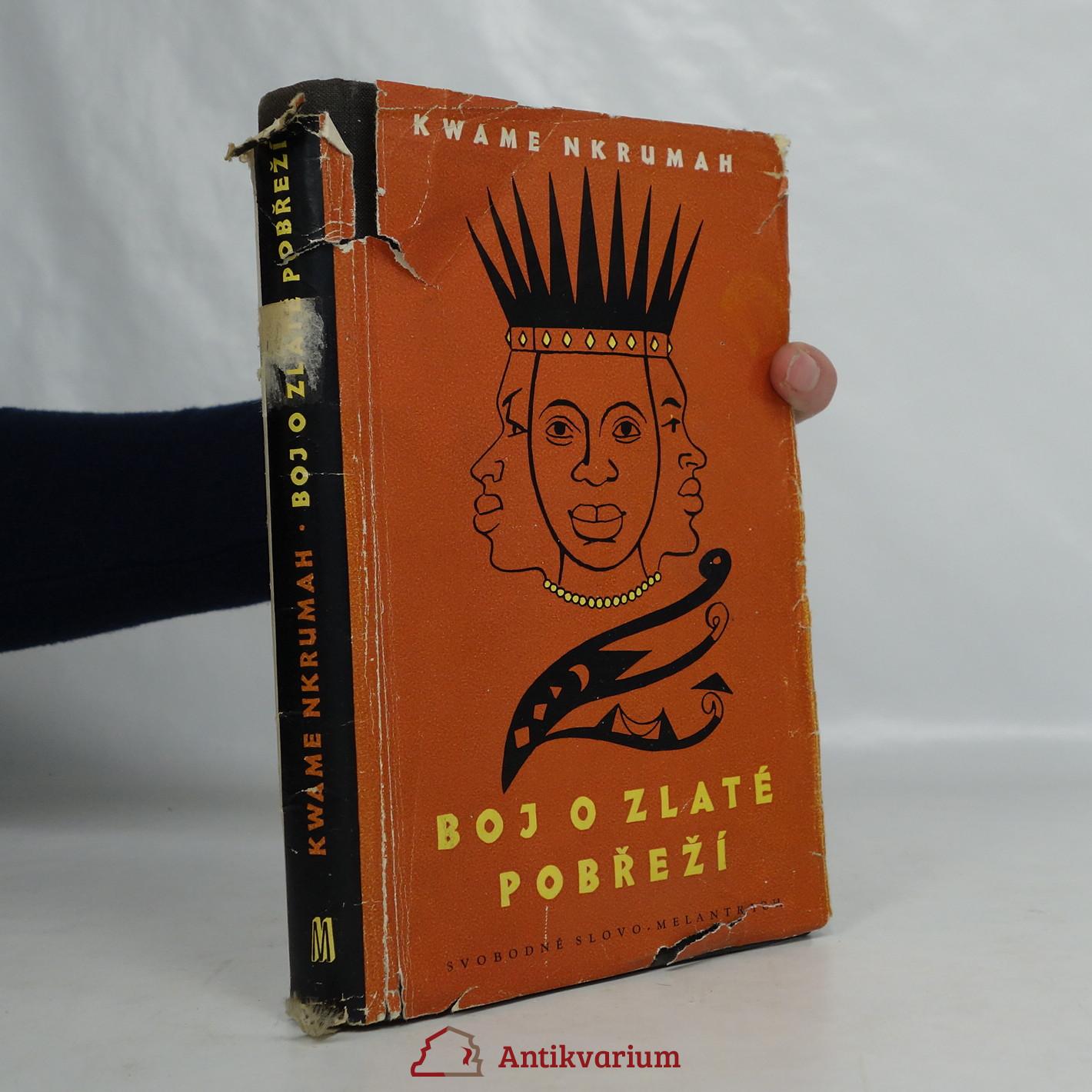 antikvární kniha Boj o Zlaté pobřeží, 1958