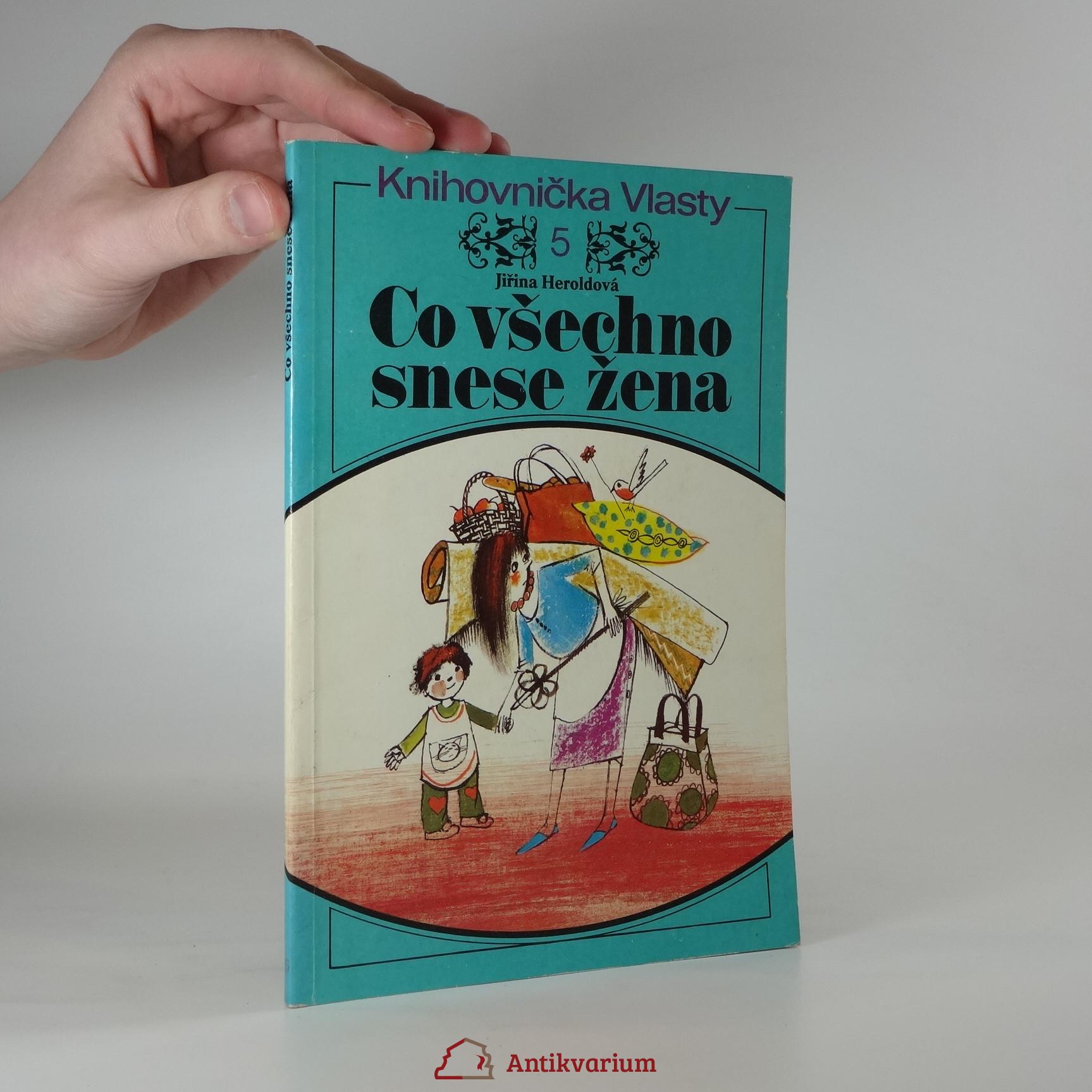 antikvární kniha Co všechno snese žena, 1978