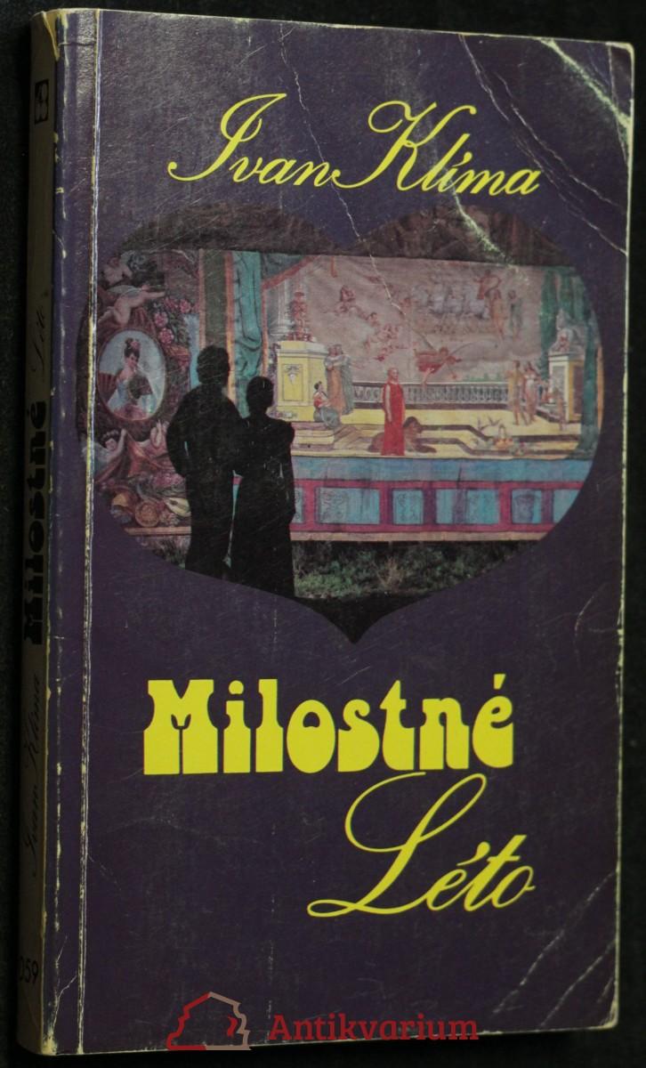 antikvární kniha Milostné léto, 1979