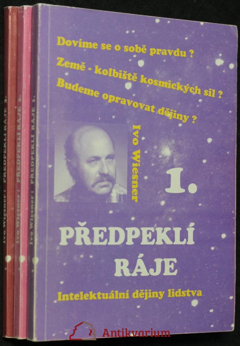 antikvární kniha Předpeklí ráje (tři svazky, 1995