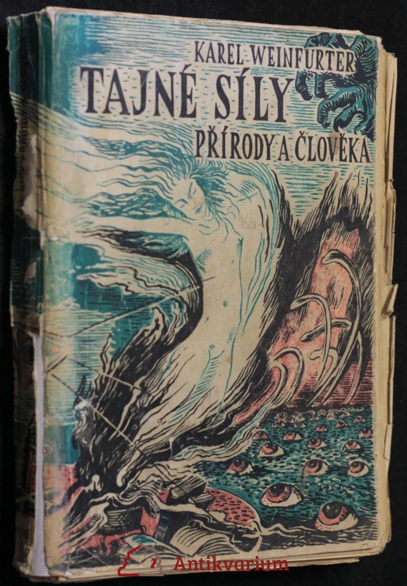 antikvární kniha Tajné síly přírody a člověka, 1948