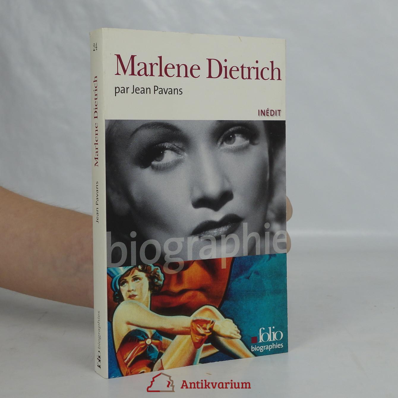 antikvární kniha Marlene Dietrich, 2007