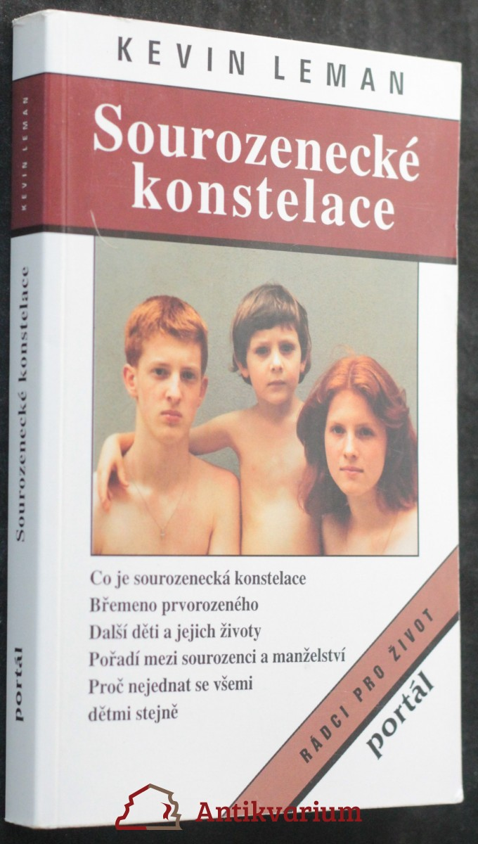 antikvární kniha Sourozenecké konstelace, 1997