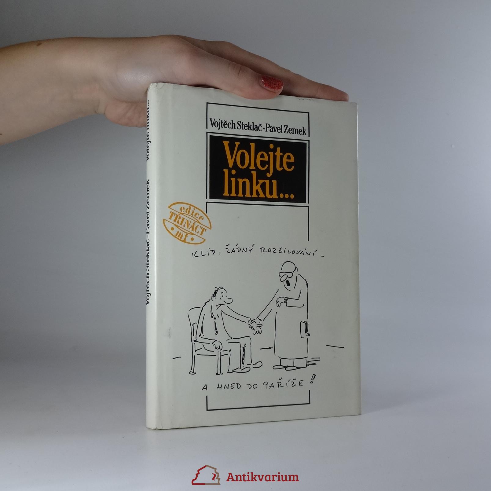 antikvární kniha Volejte linku..., 1989