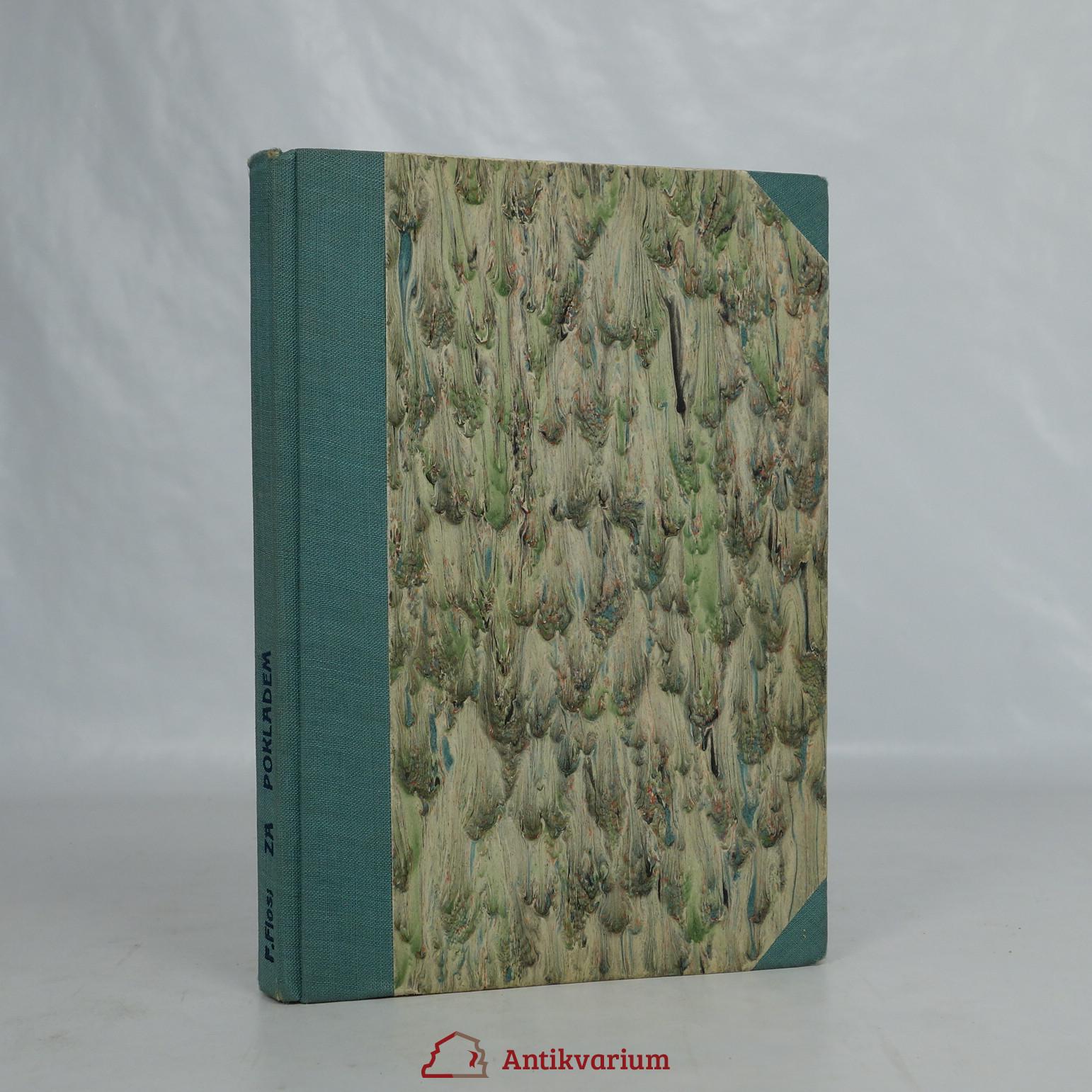 antikvární kniha Za pokladem. Dobrodružný román, 1947