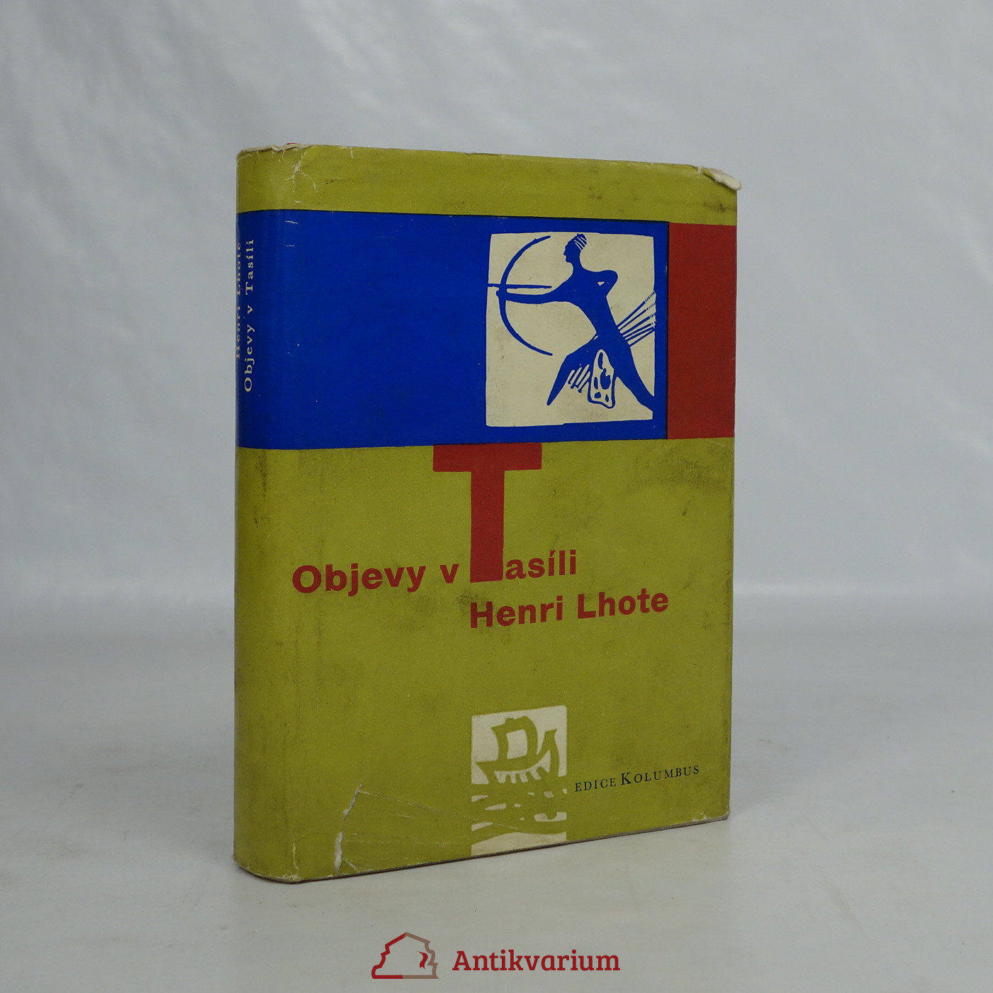 antikvární kniha Objevy v Tasíli, 1962