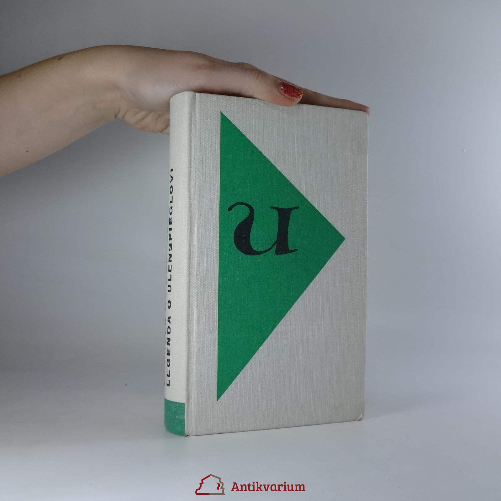 antikvární kniha Legenda o Ulenspieglovi, 1963