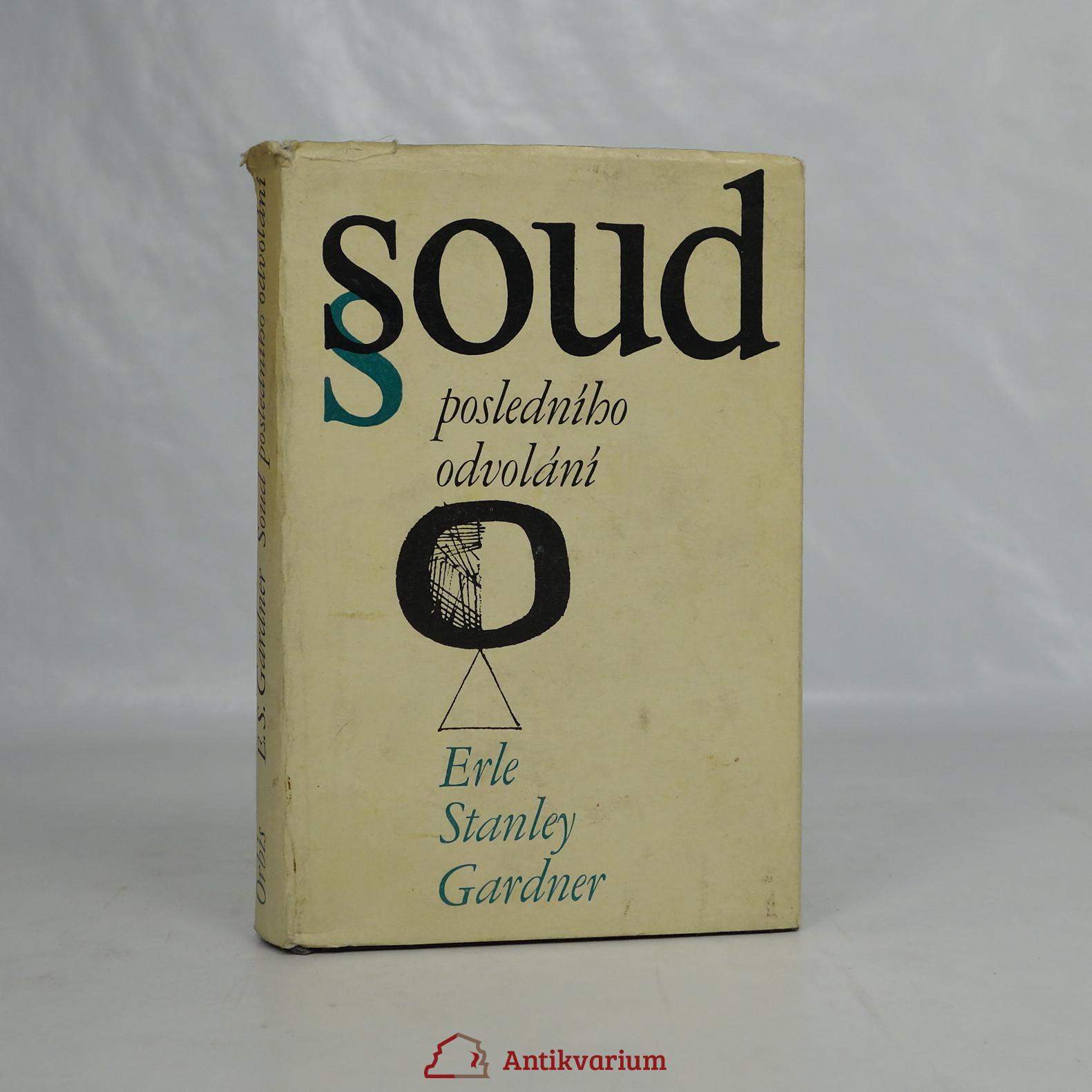 antikvární kniha Soud posledního odvolání, 1968