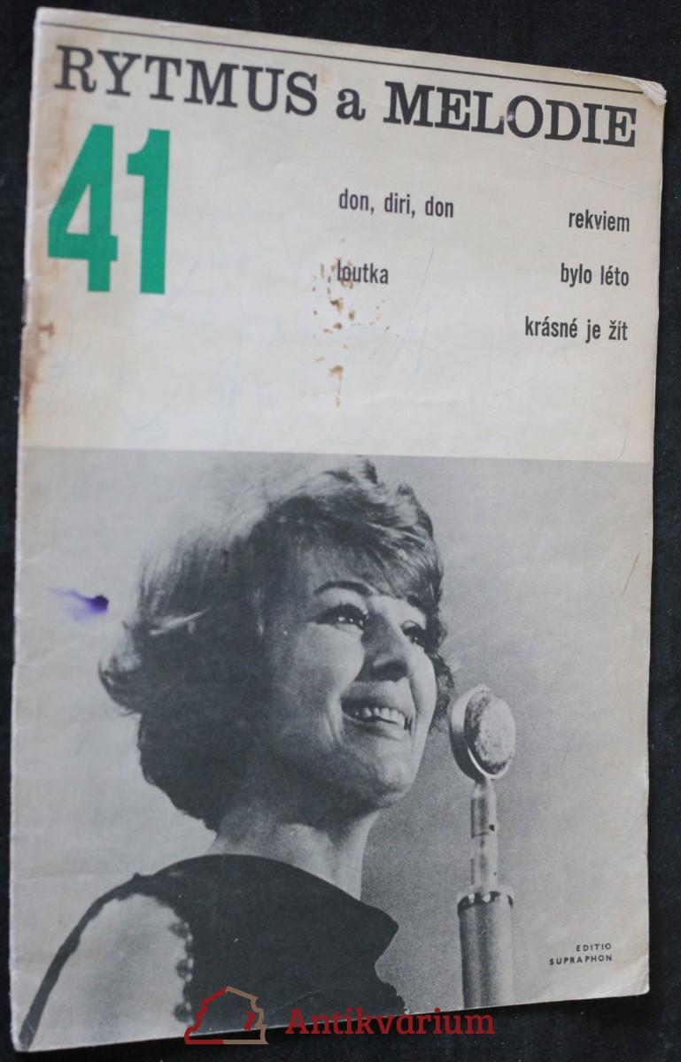 antikvární kniha Rytmus a melodie 41, 1967