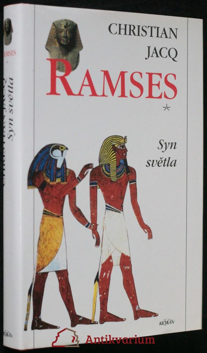 antikvární kniha Ramses. [1], Syn světla, 1996