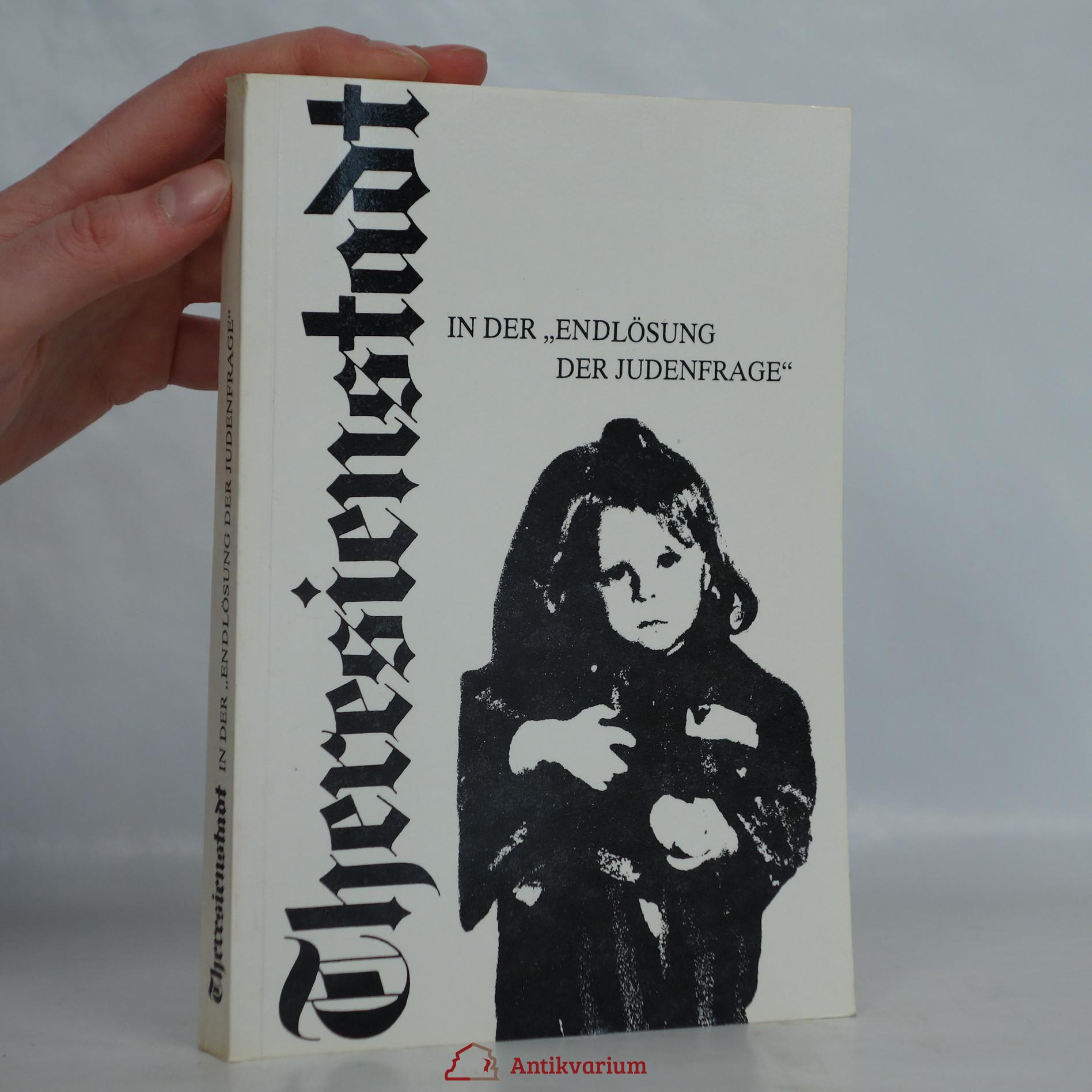 antikvární kniha Theresienstadt in der