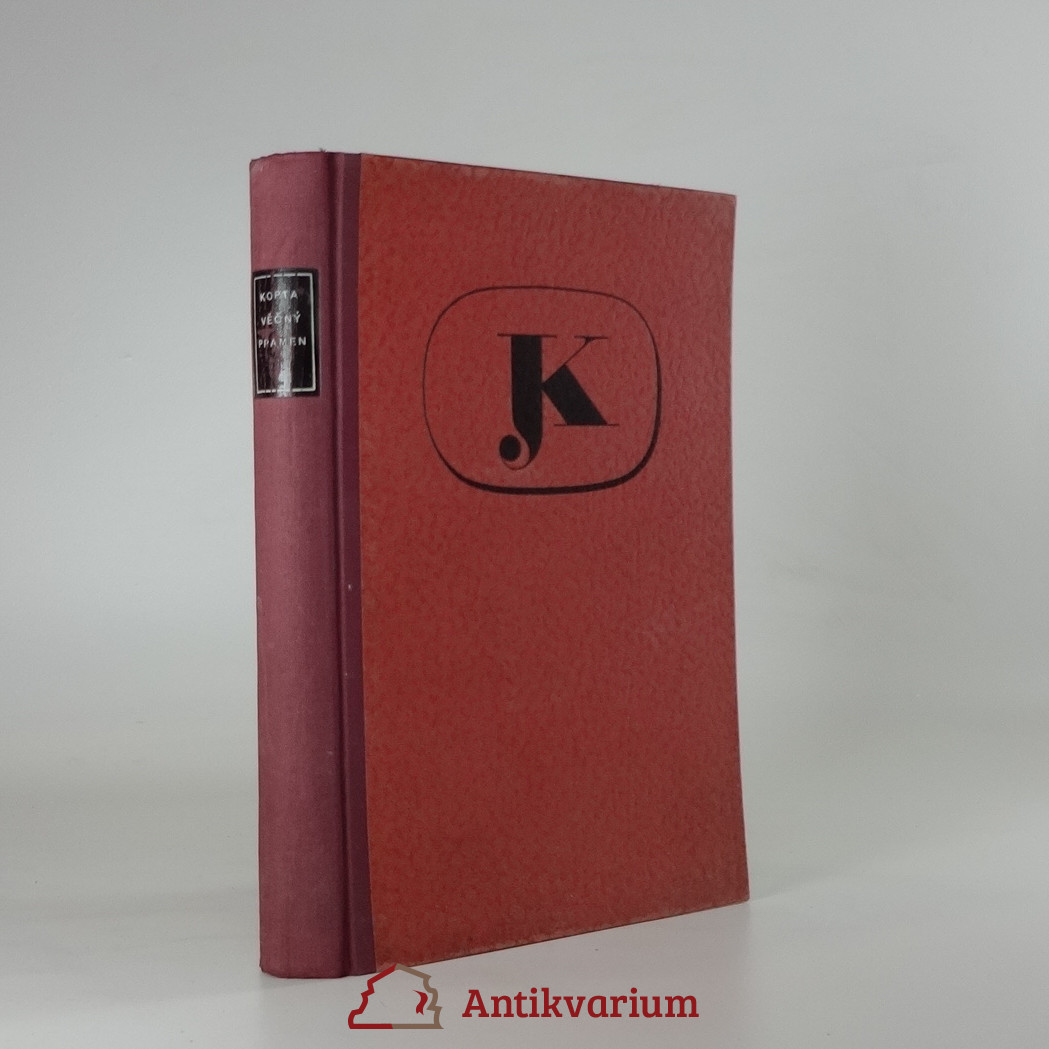antikvární kniha Věčný pramen, 1937