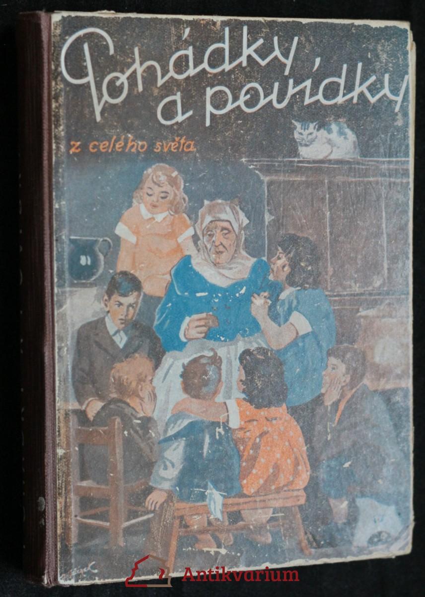 antikvární kniha Pohádky a povídky z celého světa, neuveden