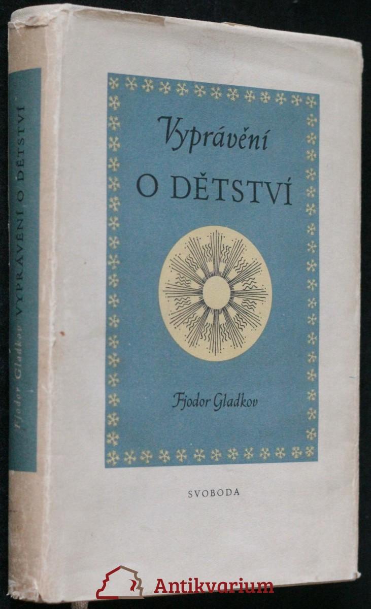 antikvární kniha Vyprávění o dětství, 1952