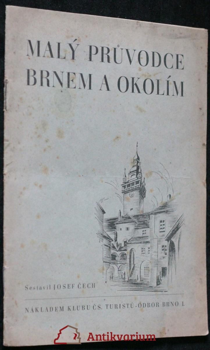 antikvární kniha Malý průvodce Brnem a okolím, neuveden