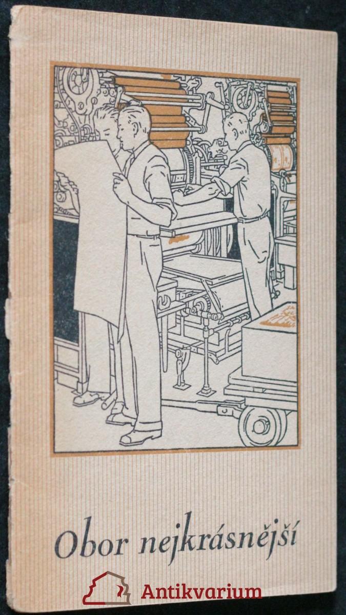 antikvární kniha Obor nejkrásnější, neuveden
